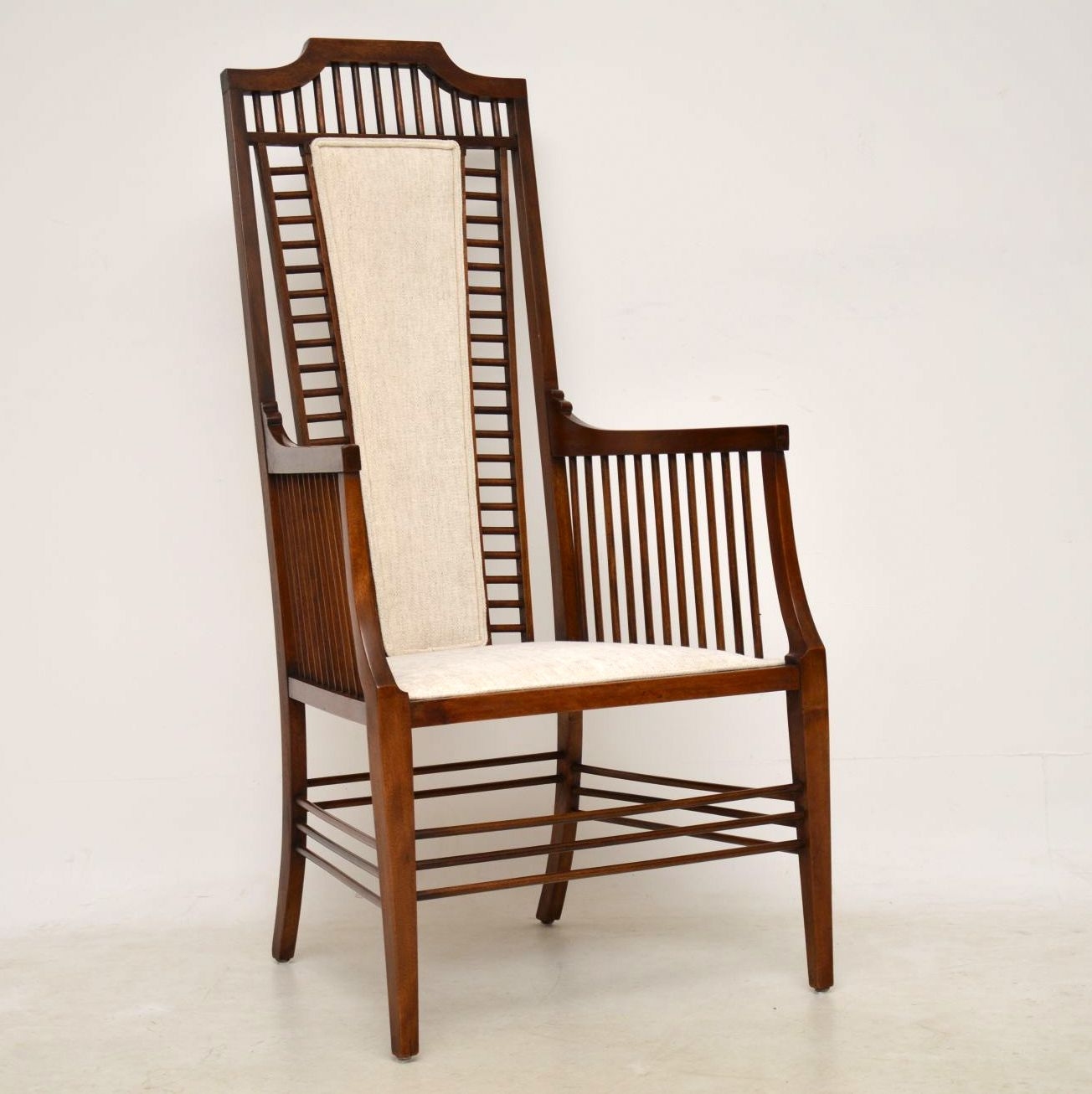 Antique Arts Crafts Mahogany Armchair Interior Boutiques Antiques For Sale And Mid Century Modern Furniture French Furniture Antique Lighting Retro Furniture And Danish Furniture