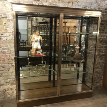 Antique bronze display cabinet from the V&A museum