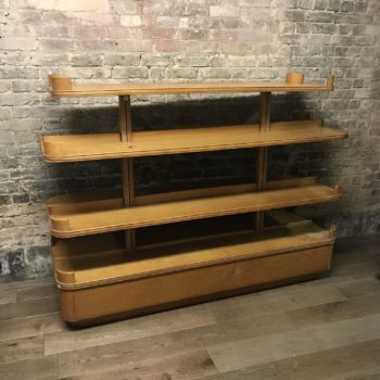 Antique Oak Shop Gondola