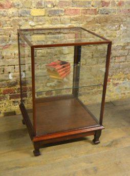 Rare 1920S Mahogany Shop Display Counter