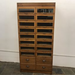 Oak Haberdashery Two Across Shirt Cabinet