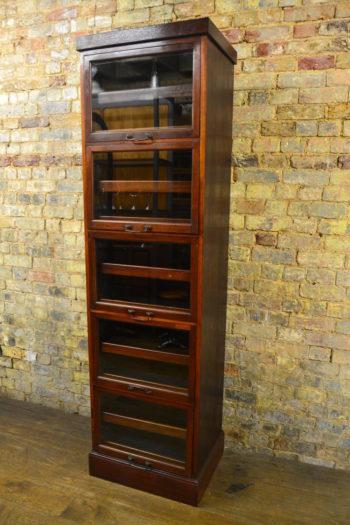 1920s Mahogany Shirt Cabinet