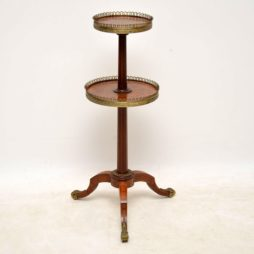 Antique French Inlaid Parquetry Etagere