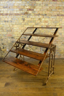 French Metamorphic Table Bookcase