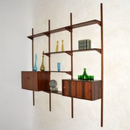 1960's Vintage Danish Rosewood PS Shelving System