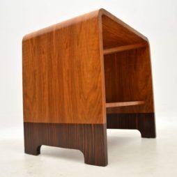 1920's Art Deco Walnut & Rosewood Coffee Table