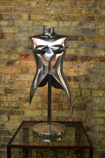 Nigel Coates Aluminium Bust Table Light