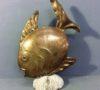 Brass Fish Sculpture
