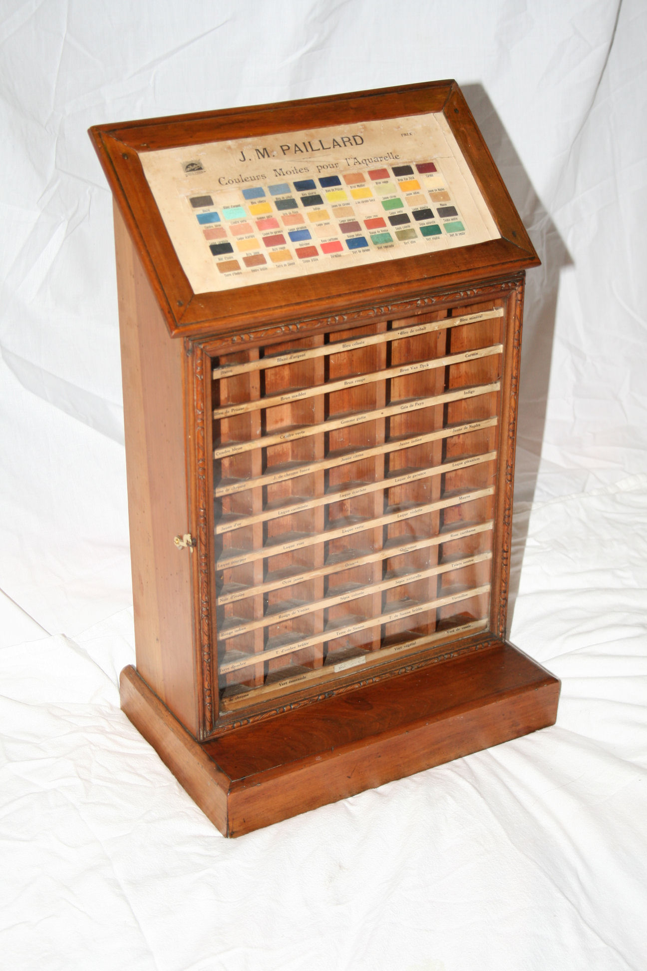 Artist Paint Display Cabinet