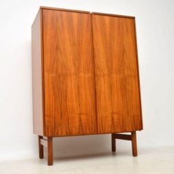 1960's Vintage Walnut Drinks Cabinet by Robert Heritage for Archie Shine