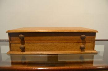 Oak Cotton Storage Box