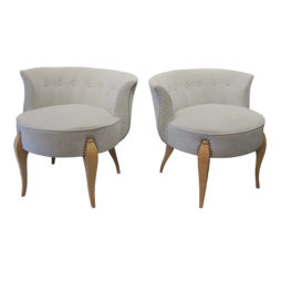 Mid century pair of occasional Swedish chairs