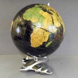 Weber and Costello Art Deco Airplane Globe