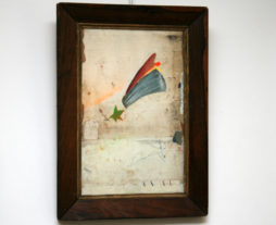 Abstract Collage by Artist Huw Griffith