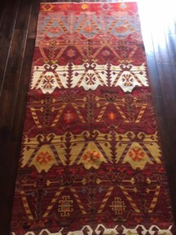 Afyon Turkish Kilim Rug
