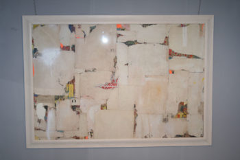 Remnants 3.1 Abstract Collage by Artist Huw Griffith