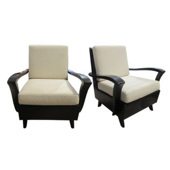 A pair of 1930's French Armchairs