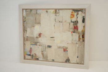 REMNANTS 11 Large Abstract Collage by Artist Huw Griffith