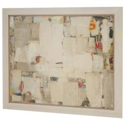 REMNANTS 11 Very Large Abstract Collage  by Artist Huw Griffith