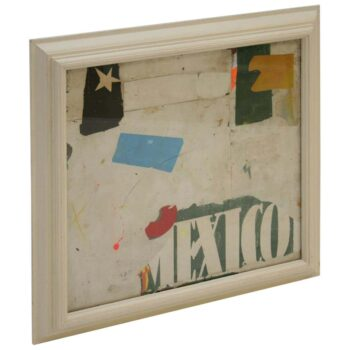 Mexico Collage by Artist Huw Griffith