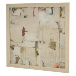 Large Decollage REMNANTS 12 By Artist Huw Griffith