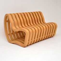 "Modernist ""Curve Bench"" by Nina Moeller Designs"