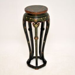 Antique Chinese Style Chinoiserie Plant Stand Jardiniere