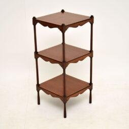 Antique Edwardian Inlaid Mahogany Side Table