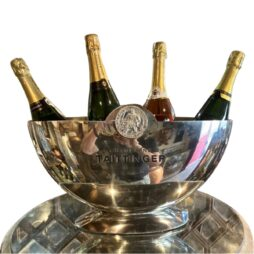 Half Moon Vintage Champagne Ice Bucket