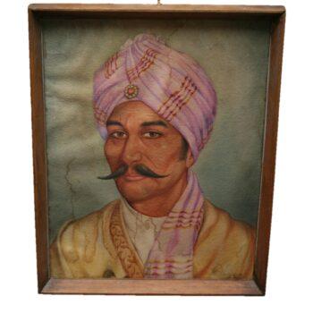 A Portrait of a Maharajah A.P. Lucas 1963