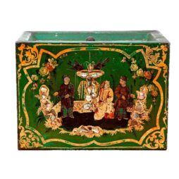 Antique 19th Century Toleware Tea Tin Box