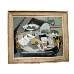 Hugo Liner The White Jug Painting
