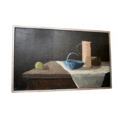Danish Oil On Canvas