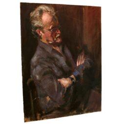 Robert Oscar Lenkiewicz   1941-2002, Oil on Canvas