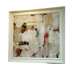 Medium Abstract Collage from The Remnants Series by Artist Huw Griffith