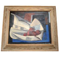 Cubist Still Life Oil on Canvas